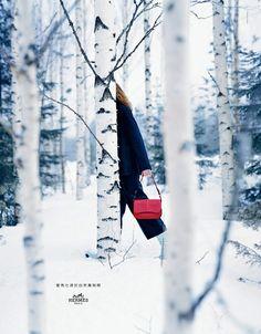 La campagne de publicité automne hiver 2016 2017 : Hermès par nature