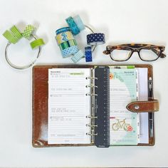 """3"""" Washi Tape Storage rings are the perfect size for on-the-go planning and creating. They're sold in sets of 2 so you can keep one at home and one in your tote bag. Also available in 2"""" and 1"""". http://ift.tt/1M69bb1 