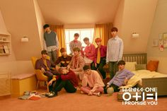 "Teaser )) Wanna One Mini Album (I Promise You)"" Group Teaser Photo Mnet Asian Music Awards, Produce 101, Nct 127, Shinee, Got7, Jaehwan Wanna One, One Twitter, Twitter Update, Programa Musical"