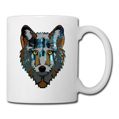 Cool Forest Tiger Ceramic Coffee Mug, Tea Cup | Best Gift For Men, Women And Kids - 13.5 Oz, White *** Quickly view this special  product, click the image : Coffee Cups and Mugs