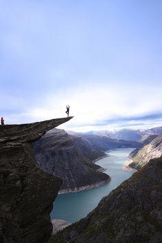 Trolltunga, Norway by OpplevOdda