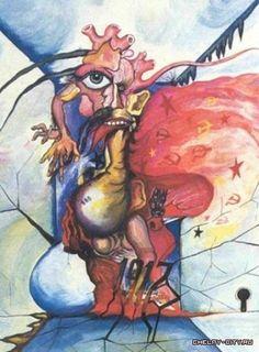 Big Listas da Net: 20 pinturas feitas por doentes mentais