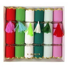 Meri Meri Tassel Decoration Christmas Crackers