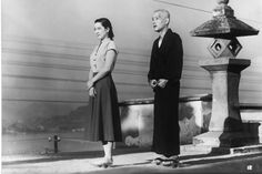 """An early masterpiece in Japanese cinema, Yasujirô Ozu's Tokyo Story is an emotional, deceptively simple portrait of several ordinary lives as they cope with the fleeting nature of human existence. Martin Scorsese, Great Films, Good Movies, Akira, Tokyo Ville, Tokyo Story, Yasujiro Ozu, Film Trilogies, Non Plus Ultra"