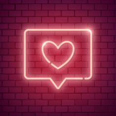 Neon light Valentines day symbol on brick wall Valentines Day Sayings, Valentines Day Background, Neon Wallpaper, Aesthetic Iphone Wallpaper, Leaves Illustration, Photowall Ideas, Diy Love, Neon Licht, Neon Quotes