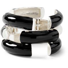 Enamel Link Bracelet ($28) ❤ liked on Polyvore