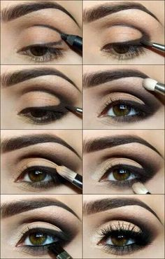 Learn to work with upturned eyes! (my shape)