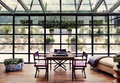 Maximizing natural light, these sun-drenched conservatories and sunrooms are perfect for a little rest and relaxation