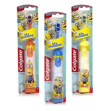 Minions Colgate Kids Battery Powered Electric Toothbrush Childrens Despicable Me