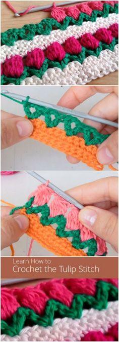 Learn How To Crochet Tulip Sti