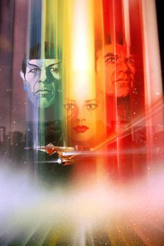 Star Trek: The Motion Picture by Bob Peak. From back when movies posters were real movie posters.