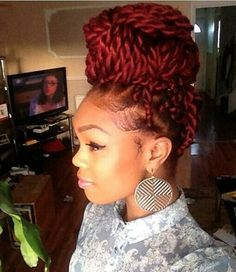 Definitely going to get Marley twists this winter!! I love this color!!!!