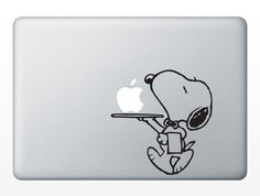 snoopyMacbook decal Macbook sticker Mac decal Mac by Decaldazzle, $6.99