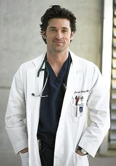 Greys anatomy 30 day challenge  Day 1 favorite male character: Derek Shepherd of course!!!