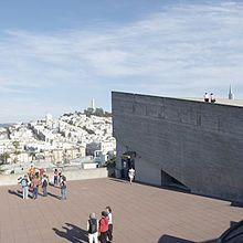 San Francisco Art Institute rooftop