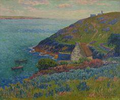 Henri Moret - 159 Port Manech - Порт Манек (Порт) - 1896 - 60,5x73,5 - Acheté chez Durand-Ruel, 15 août 98, 1000 fr - cat.1913, 145 - inv. Ermitage 9054