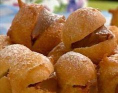 Riquísimos buñuelos rellenos de dulce de leche - Cocineros Argentinos