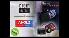 The only way to comfortably watch your 'flix on your phone or tablet   & a kicking bag to carry it along with all your gear!