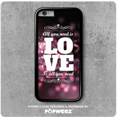 Coque iPhone 6 Need Love Message Amour  Envoi Offert par POPWEEZ
