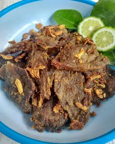 Resep Empal Gepuk Goreng By Indonesian Food, Indonesian Recipes, Meat Recipes, Healthy Recipes, Health Shop, Allrecipes, Spicy, Food And Drink, Menu