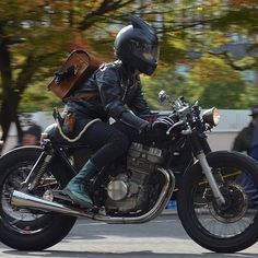 #CafeRacer