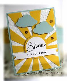 Apr 5, 2016  Stampin' Up Sunburst Sayings,  Me My Stamps and I: SU Sunburst Sayings and Sunburst Thinlits die