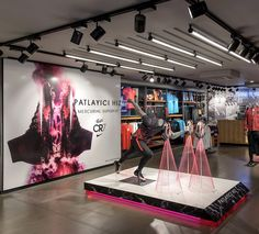 Nike Retail Interior I .....  l Nike Forum Istanbul by Dusmekan Design I Istanbul I Dusmekan See more here: www.dusmekan.com