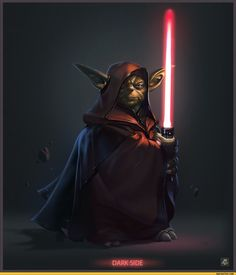 Yoda, on the dark side.
