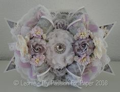 Shabby Chic Bow Card ~ Lavish Laces DTP