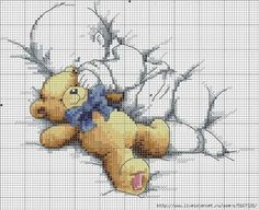 CHARMS IN CROSS POINT: Babies in Cross Stitch