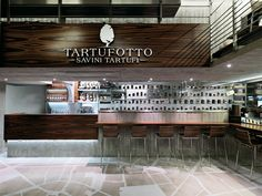"""Restaurant in Milan """" Tartufotto"""" on Behance"""