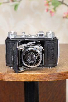 SUPERB! 1938 Welta Welti, 35mm Camera, Freshly Serviced! – Petrakla Classic Cameras
