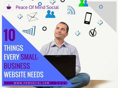 10 Things Every Small Business Website Needs Pick up the essential elements to improve your website's impact: https://www.entrepreneur.com/article/217499 Peace of Mind Social - Affordable social media content creation 7 days a week. #BizWebsite #WebsiteEssentials #WebTips #BizOwner