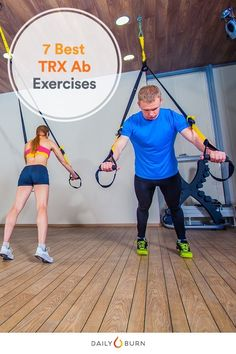 No More Sit-Ups: 7 TRX Moves to Work Your Abs