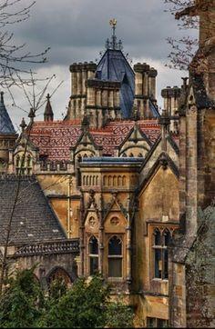 Tyntesfield House - Victorian era Gothic Revival in Bristol