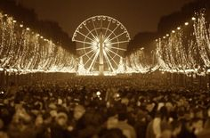 New Year's Eve Places To Be - Paris (the top spot on MY list!!!)