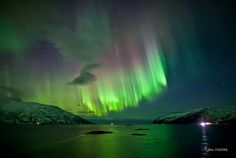 See the northern lights = Checked in Tromsø, Norway, fall 2011!