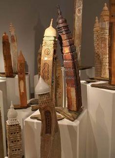 Ceramic art by Merrill Orr, Australia
