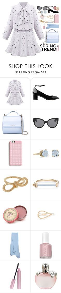 """""""Just Like a Frill Outfit"""" by ohsosartorial on Polyvore featuring Whistles, Givenchy, Miu Miu, Marc by Marc Jacobs, BillyTheTree, Balenciaga, MIANSAI, Rosebud Perfume Co., Mrs. President & Co. and Sternlein"""