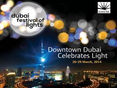 Dubai festival of lights, Dubai, UAE https://www.facebook.com/DowntownDubai/photos_stream?tab=photos_albums  #website #festival #dubai