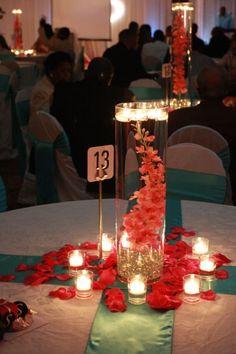 Submerged centerpiece by South Carolina Wedding Co www.southcarolinaweddingco.com