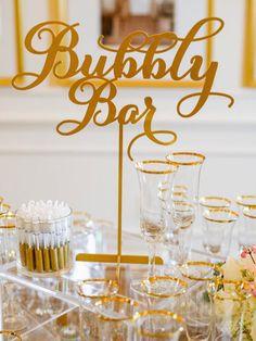 <3 Bubbly Bar <3 #winecountry #wedding