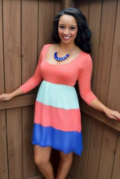 http://www.shopadorabelles.com/collections/dresses/products/fool-for-you-colorblock-dress
