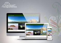 Restyling website responsive Castello di Acquafredda - Siliqua #webdesign #website #web #castello #Siliqua #acquafredda #digitalcolor