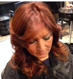 Colore invia nuova colorazione rossi ramati marroni