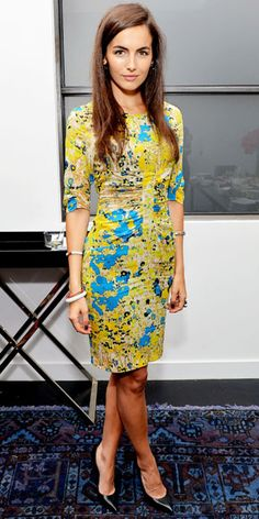 Look of the Day: April 24, 2012 - Camilla Belle : InStyle.com