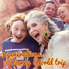 A Disney World trip plan for 3 generations - When to go, which hotels work best, where to eat how to tour together Disney World Tipps, Disney World Tips And Tricks, Disney Tips, Disney Fun, Disney 2015, Disney Travel, Disney Resorts, Walt Disney World Vacations, Family Vacations