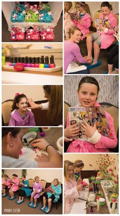 Look at these girls having a spa licious time   Spa Party | Part 2 #spa #party