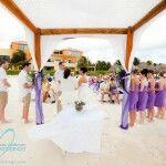 Actual wedding at Ocean Ciral
