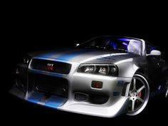 Fast and Furious Cars 1999 Nissan Skyline GT-R R34